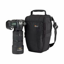 Lowepro Toploader Zoom 55 AW Digital SLR Camera Triangle Shoulder Bag Rain Cover