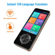"Portable 3"" Touch Screen Instant Voice Translator 11 offline Language Translator"