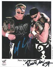 m888  New Aged Ooutlaws signed wrestling 8x10 w/COA  HISTORY  Roaddog Billy Gunn