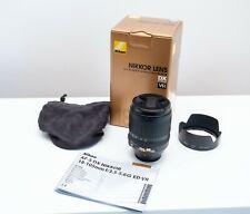 Nikon Nikkor AF-S 18-105 mm F/3.5-5.6 DX VR IF ED Objektiv OVP