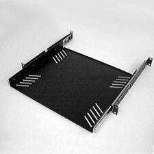 "New 1Ru 19"" Rack Case Sliding Steel Shelf.Music Equipment Storage Shelving Tray"