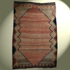 Alter Fars Gabbeh Orient-Teppich 233x160 cm Wolle handgeknüpft in Iran gereinigt