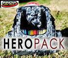 INNOVA HEROPACK BACK PACK BAG (HOLDS 25 DISCS) BLACK-CAMO INCLUDES: CRDG HEADER
