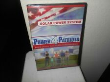 Power 4 Patriots Solar Power System ( Energy Guide) New Sealed DVD Free Shipping