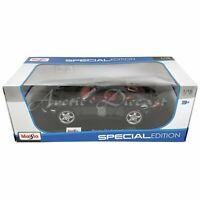 Maisto 1:18 Diecast Special Edition Dark Blue Metallic Porsche 911 Carrera S