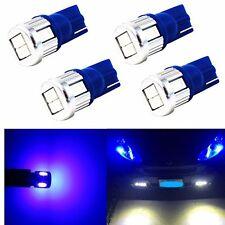 Alla Lighting 4x T10 Super Bright Blue 5630 SMD LED Light Bulbs 194 168 2825 W5W