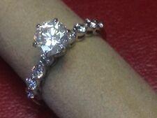 Ladies Diamond & 14K White Gold Engagement Ring