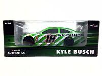2019 Kyle Busch #18 INTERSTATE BATTERIES AutoClub Speedway WIN 1//64 Diecast