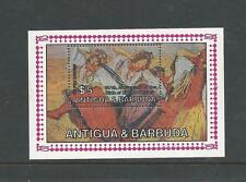 1984 150th Anniversary Edgar Degas  Mini Sheet  Complete MUH/MNH as Issued