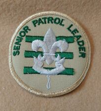 BSA - Senior Patrol Leader 1989 - 2002  B00011