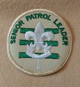BSA - Senior Patrol Leader 1989 - 2002 PRE-OWNED A00089