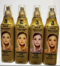 K.Brothers Gold Whitening Body Lotion 350Ml