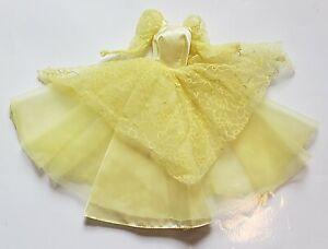 1980s 1985 Barbie Dream Glow Yellow Dress Fashion #2189