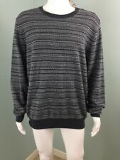 NWT Mens FCUK French Connection Gray Wool Blend Sweater Sz XL Extra Large