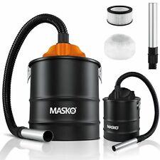 MASKO® Aschesauger Kaminsauger 20L Rußsauger HEPA Filter 1200W Ofen Grill Kamin