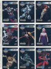 Marvel Vibranium Complete Rookie Heroes Chase Card Set RH1-10