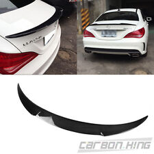 Carbon For Mercedes Benz CLA250 W117 Fastback V Type Trunk Boot Spoiler 2018