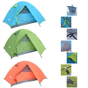 Waterproof Portable Outdoor Camping Lightweight 1-3 Person Backpack Travel Tents