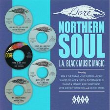 """DORE NORTHERN SOUL  """"L.A. BLACK MUSIC MAGIC"""" NORTHERN SOUL  FOR DANCERS ONLY  LP"""