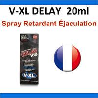 VXL DELAY 100 - Version 20 ml - Retarde Ejaculation - Éjaculation Précoce