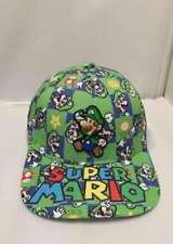 Super Mario Bros Luigi Adjustable Baseball Cap Hip Hop Snapback Hat Fashion Gift