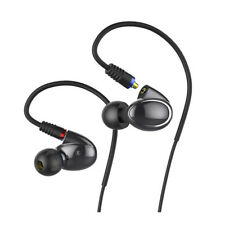 FiiO FH1 Dual Driver Hybrid In-Ear Monitors with Android Compatible Mic (Black)