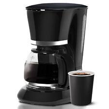 Geepas Instant Filter Coffee Maker Machine Anti-Drip 12 Cups 800W 1.5L Jug