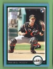 BUSTER POSEY 2010 BOWMAN BLUE PARALLEL #208 ROOKIE LOGO RC GIANTS