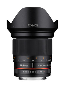 Rokinon 20mm F1.8 Full Frame Wide Angle Lens (Nikon F with Automatic Chip)