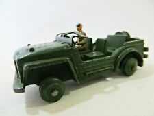 DINKY 674 'AUSTIN CHAMP JEEP' ARMY/MILITARY. VINTAGE. SUIT SPARES/RESTORATION.