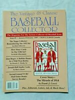 The Vintage & Classic Baseball Collector magazine #9 JANUARY/FEBRUARY 1997 (EXC
