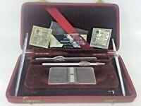 Vintage 1940's Spencer Bright Line Improved Neubauer 1/10 mm Deep Hemocytometer
