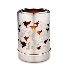 Candle Holder Keepsake (Silver Doves) Cremation Ashes Small Funeral Urn