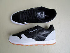 Kendrick Lamar X Reebok Classic Leather 45 Perfect Split Black Cloud/Grey Gum
