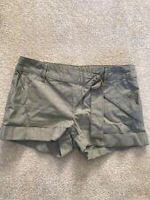 Topshop Green Smart Shorts Size 8