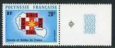 French Polynesia 1971 Boyscouts Airmail Scott C86 MNH V33