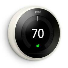Nest T3017Us Learning Thermostat 3rd Generation, White