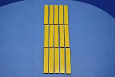 LEGO 15 x Fliesen 1x6 gelb | yellow slab flat tile 6636 663624