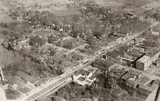 1930 Jonesville Michigan MI large aerial photo CHOICES 5x7 or request 8x10 or 8x