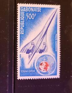 Gabon Stamp - #C172 - Concorde and Globe - MNH XF-1975