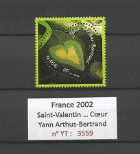 FRANCE 2002...HEART...Saint-Valentin...YANN-ARTHUS-BERTRAND...YT 3559...MNH **