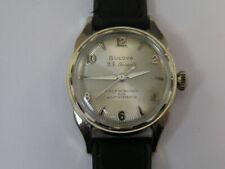 Vintage Bulova Watch Fancy Dial 23 Jewel Automatic 1955