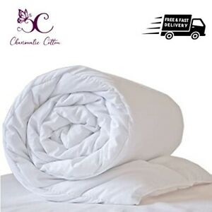 Anti-Allergy 10.5 ,13.5 Tog Poly Cotton  Hotel Quality Duvet/Quilt All UK Size