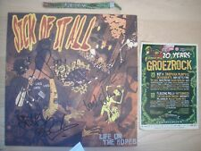 "Sick Of It All - Life On The Ropes  LP 12"" signed autographed Agnostic Madball"