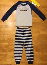 NWT Gymboree Boy's Blue & Gray Pajama Outfit - Size: 2T - Mom's #1 All-Star
