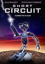 NEW DVD - SHORT CIRCUIT - Ally Sheedy, Steve Guttenberg, Fisher Stevens,