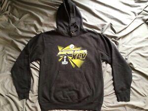Pittsburgh Steelers Super Bowl XLV Adult Black Hoodie Sweatshirt Small