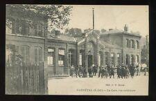 France DARNETAL Railway Station  exterior PPC