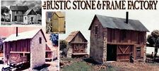 the RUSTIC STONE & FRAME FACTORY Kit Thomas A Yorke/Scale Model O/On3/1;48 *NEW*