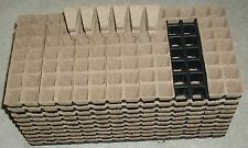 """980- 1 1/4"""" sq.x 2""""deep  JIFFY PEAT POTS for SEED STARTING/GREENHOUSE SUPPLIES"""